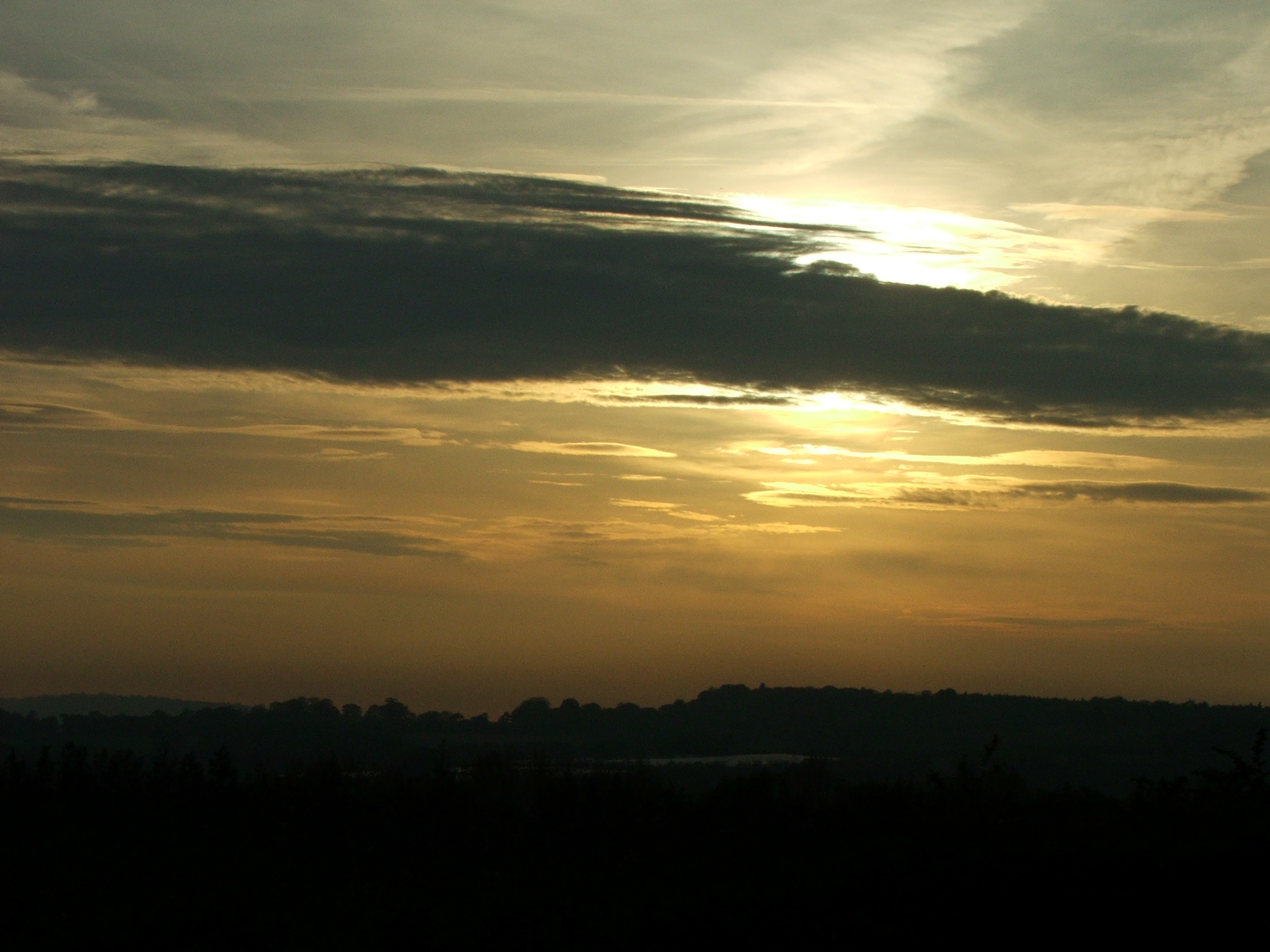 Sunset over Royden